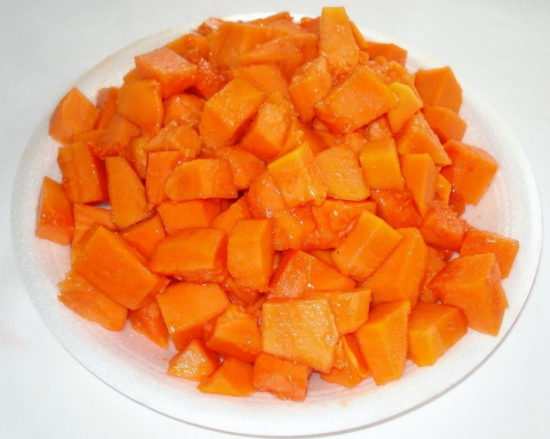 FROZEN PAPAYA CHUNKS 2