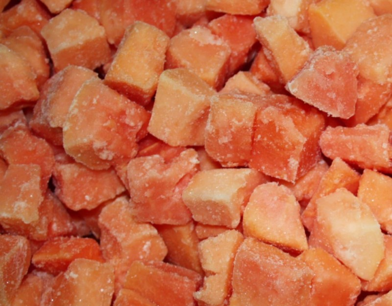 FROZEN PAPAYA CHUNKS 3